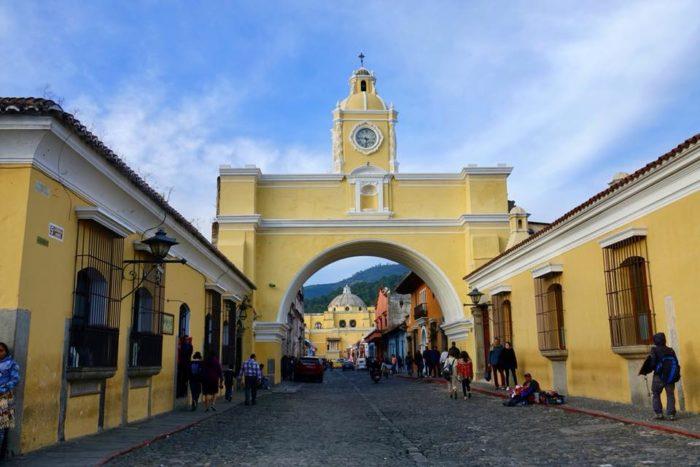 Antigua partir au guatemala