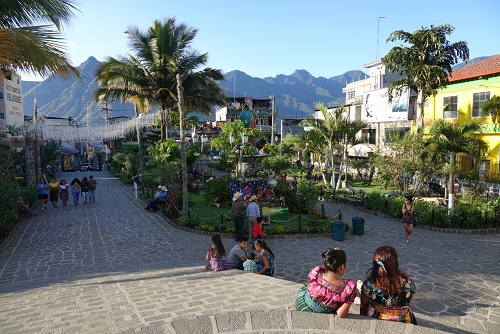San Pedro ville lac Atitlan Guatemala