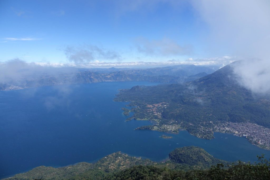 Volcan San Pedro ascenscion lac Atitlan Guatemala