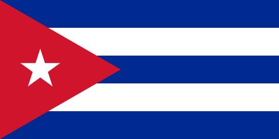 Cuba voyage drapeau
