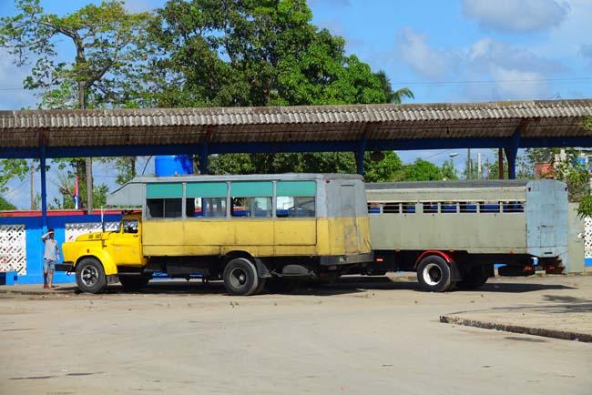 Se déplacer en Camion à Cuba