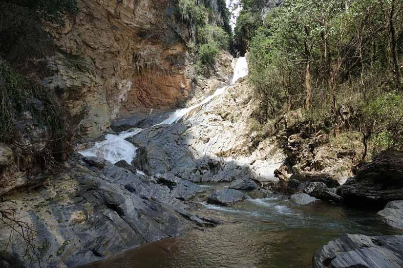 Salto de Caburni proche trinidad cascade