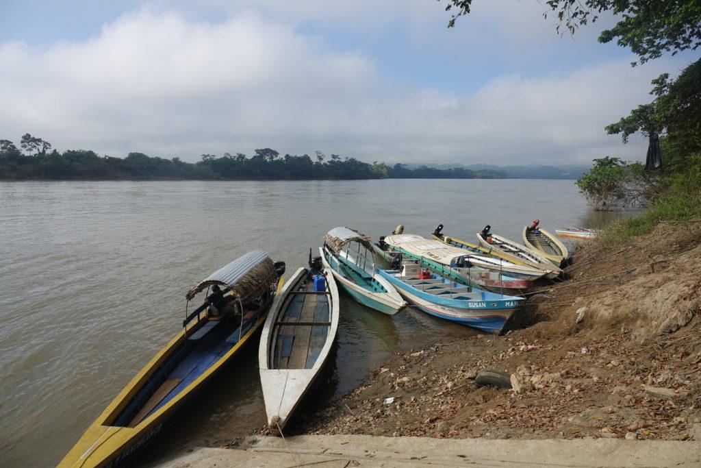 Frontera Corozal frontière Guatemala