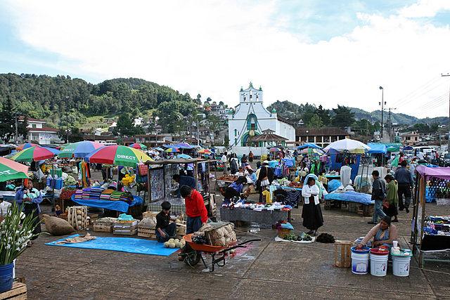 San_Juan_Chamula, environ de Palenque