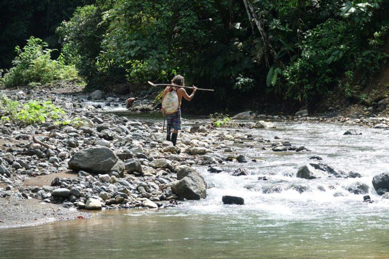 Rio Tigre Costa Rica chercheur d'or