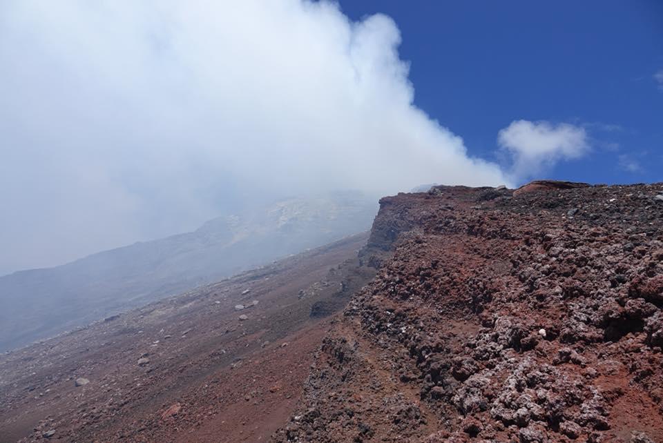 volcan momotombo cratère rando