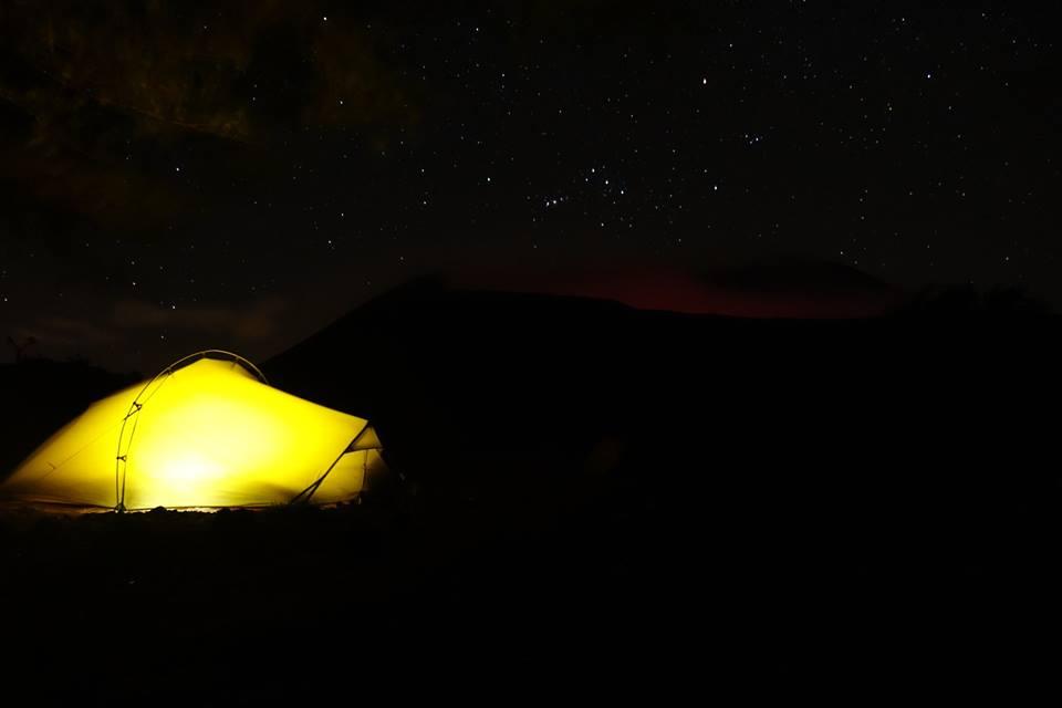 volcan telica de nuit