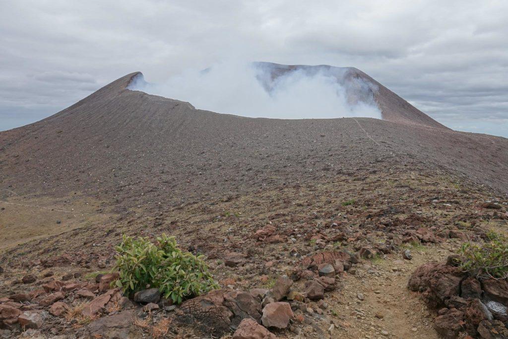 ascension volcan telica