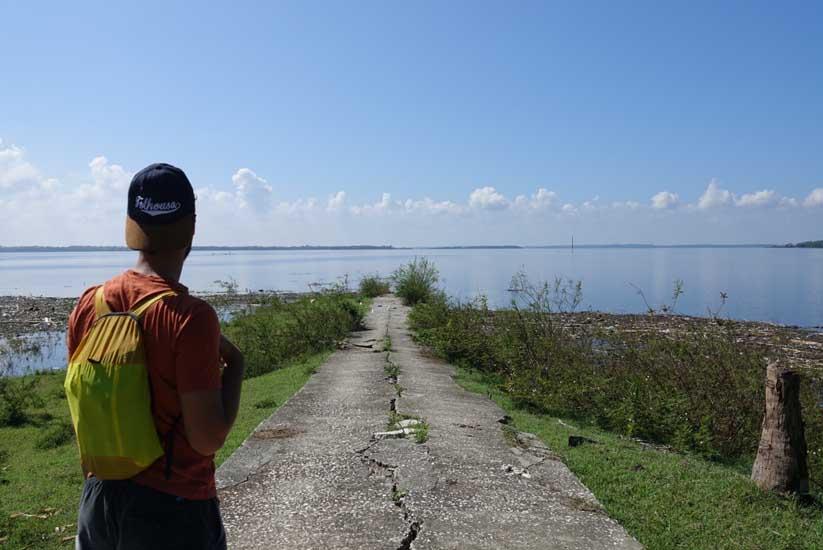 voyage au lac zaza santi spiritu