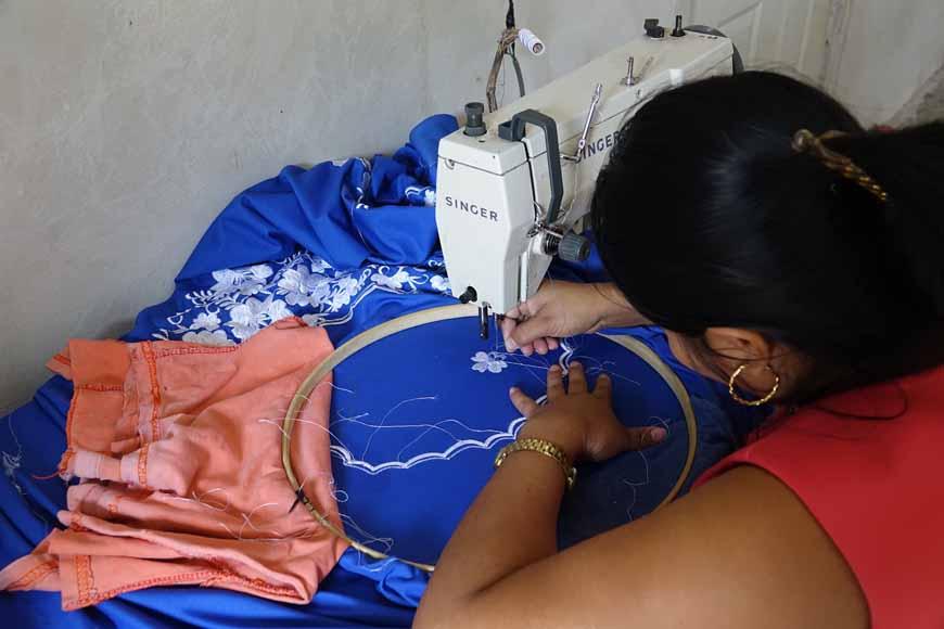 apprendre la couture à Dzitnup