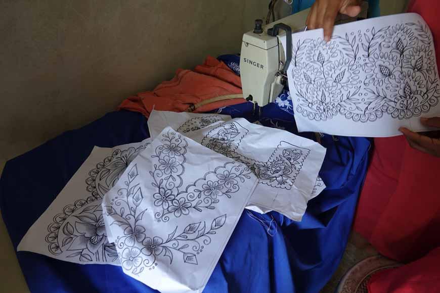 modèle de couture Dzitnup