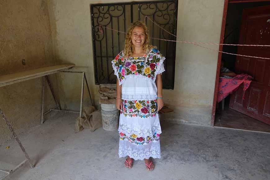 Dzitnup et les vêtement traditionnel