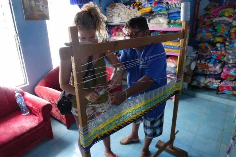 découvrir le tissage de hamac à Tixkokob