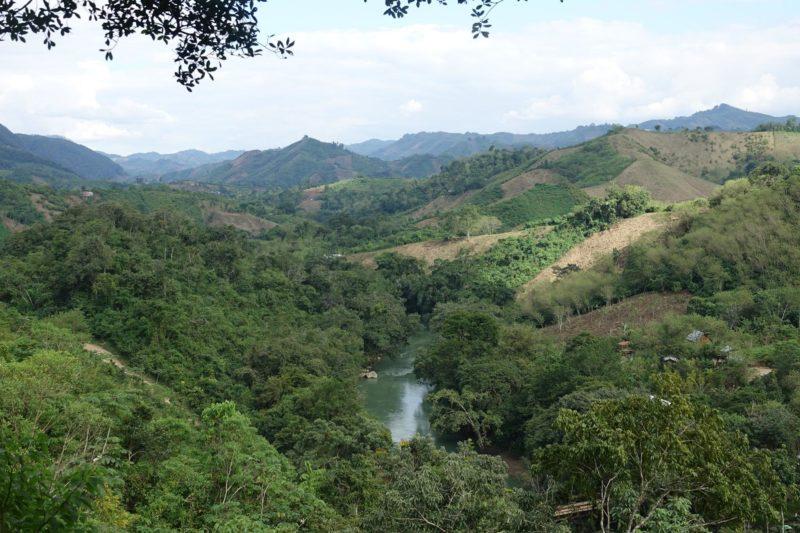 Semuc champey, cascade et vallée guatemala