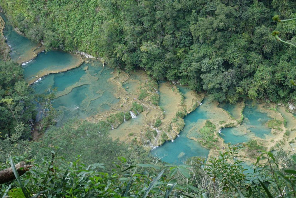 Semuc champey, cascade guatemala