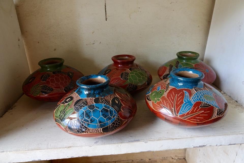 artisan potier san juan de oriente barro poterie