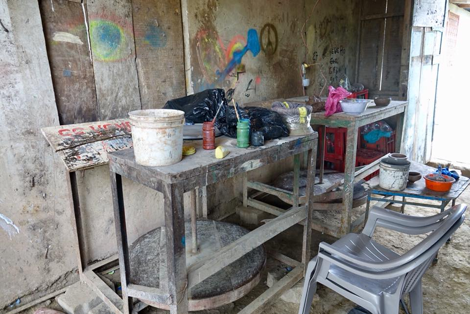 artisan potier san juan de oriente barro