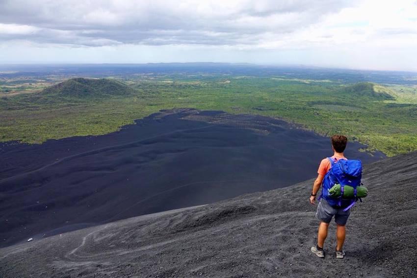 cerro negro et el hoyo volcan vue Local Xplorer