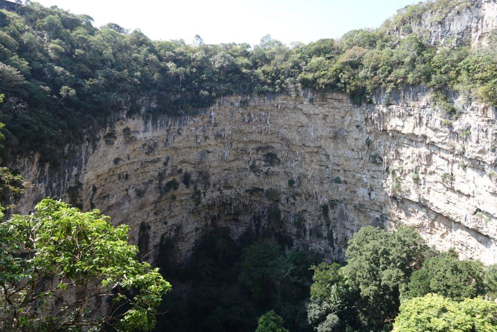 Sima de las Cotoras voyage Chiapa
