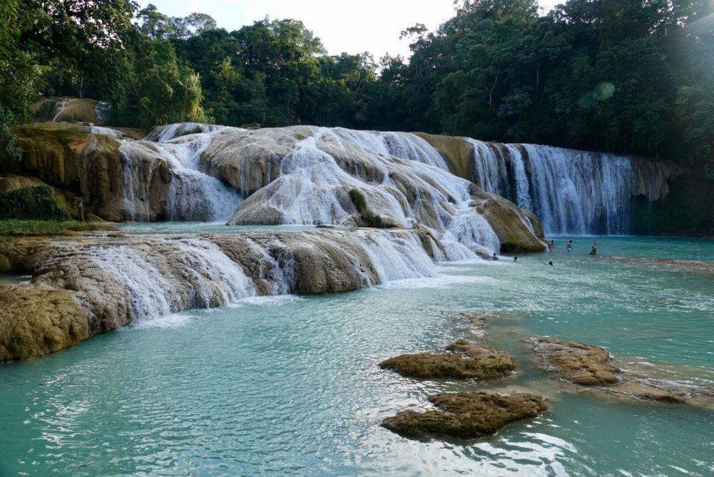 Visiter Agua Azul aux environs de Palenque , Chiapas