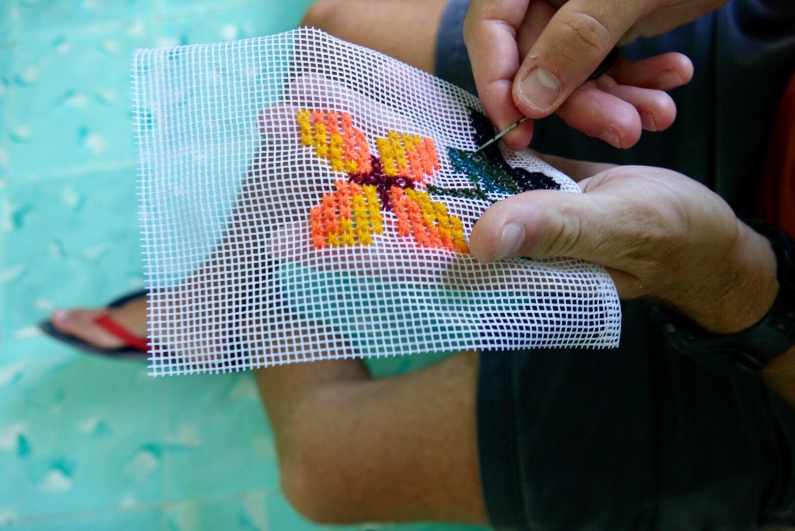 apprendre la couture et la broderie au mexique