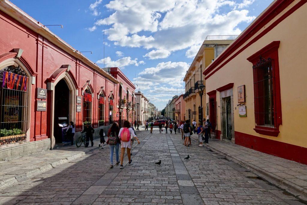 Ruelle de Oaxaca