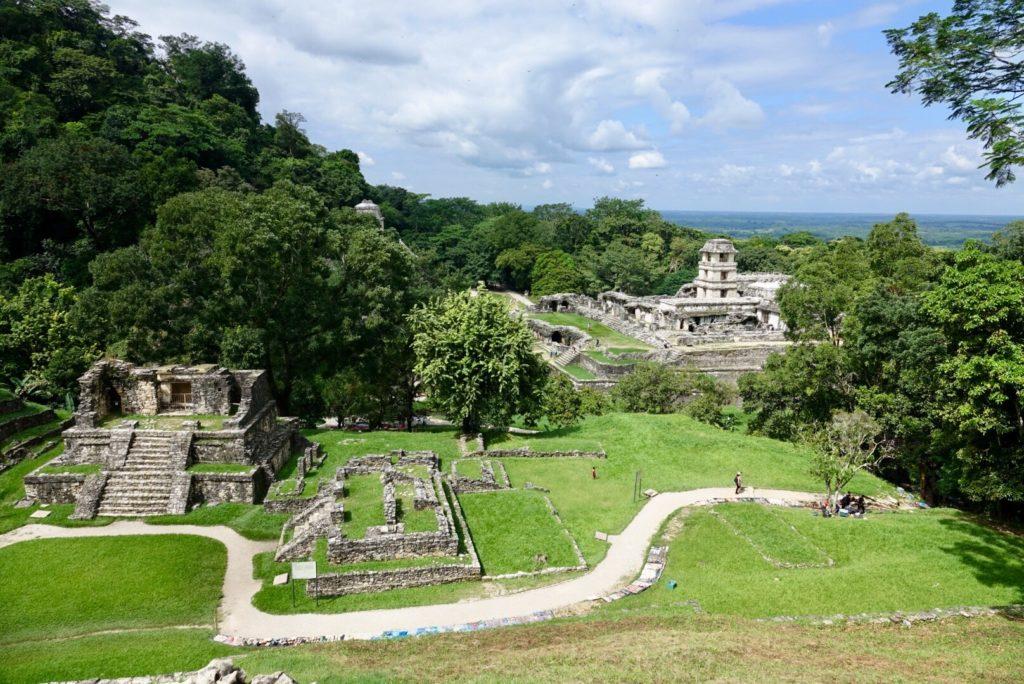 Site Maya aux environs de Palenque , Chiapas