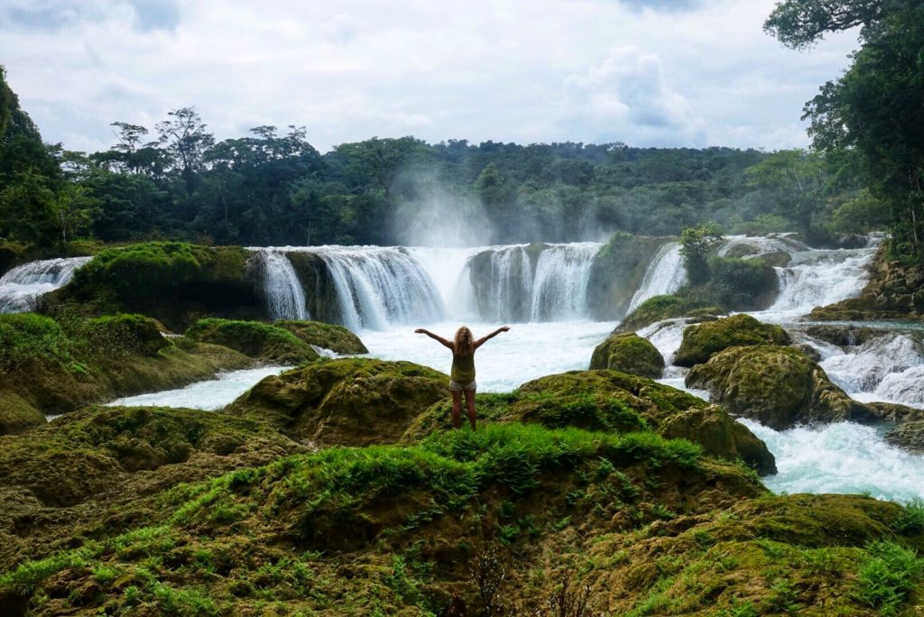 Las Nubes , itinéraire d'un voyage dans le Chipas