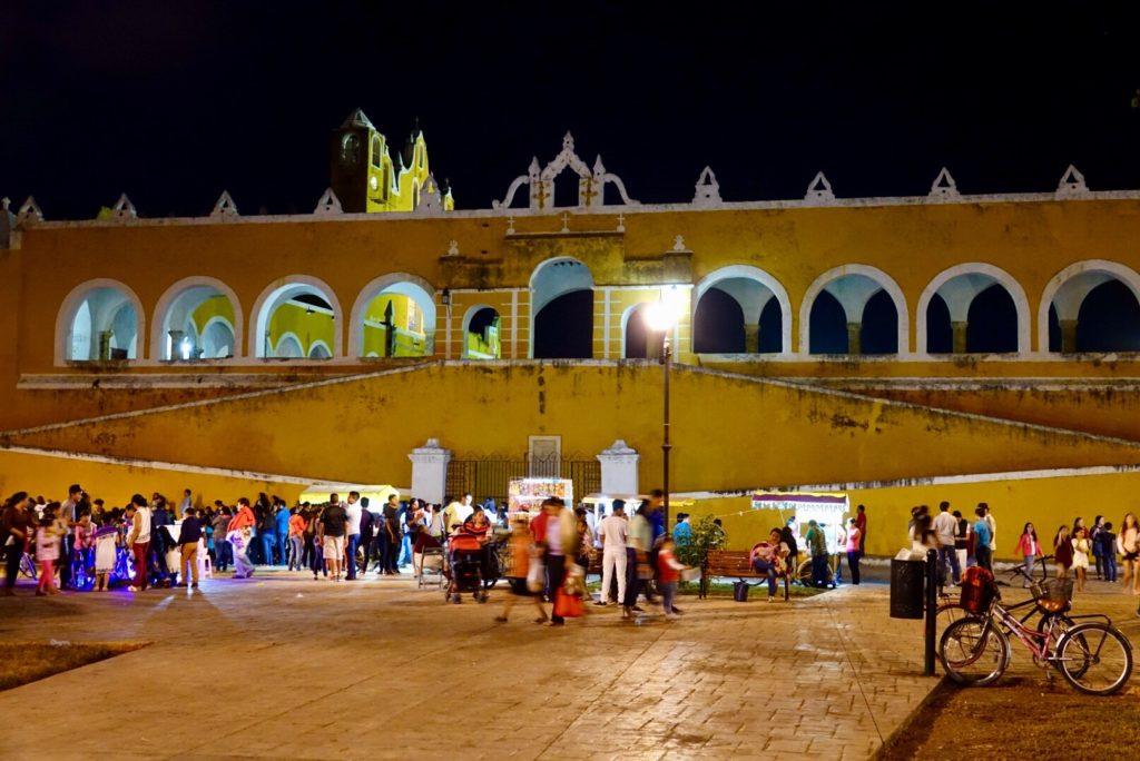 aller à Izamal dans le Yucatan