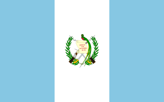 Drapeau du guatemala voyage