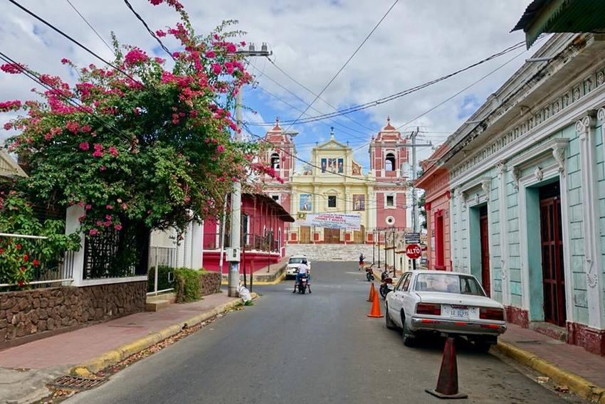 leon nica couleur Itinéraire voyage Nicaragua