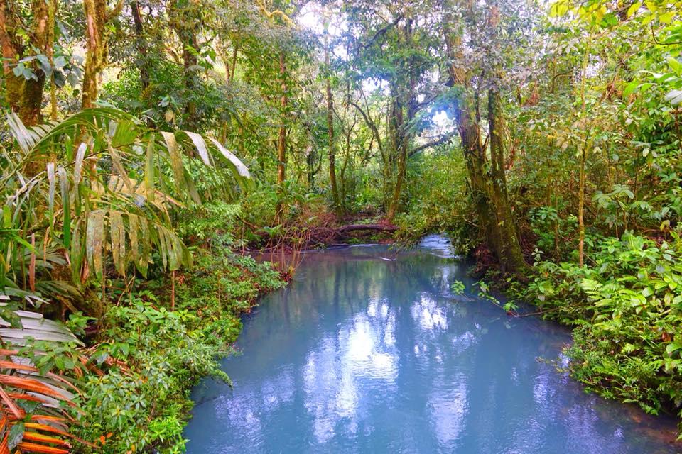 rio celeste riviere turquoise