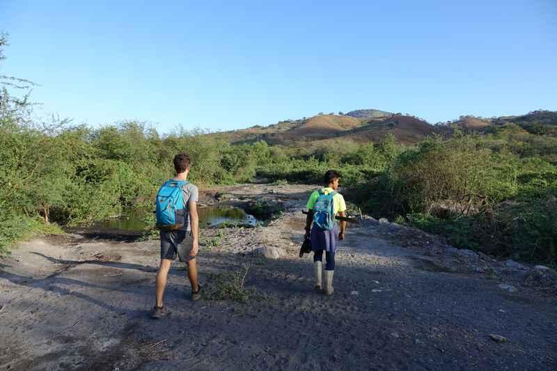 volcan momotombo chemin plage