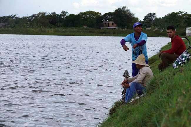 Apprendre à pêcher à Cuba
