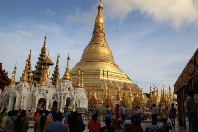 Itineraire d'un voyage à Yangon