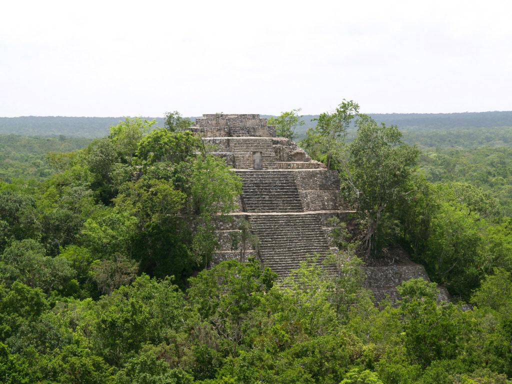 Le site archéologique de Calakmul