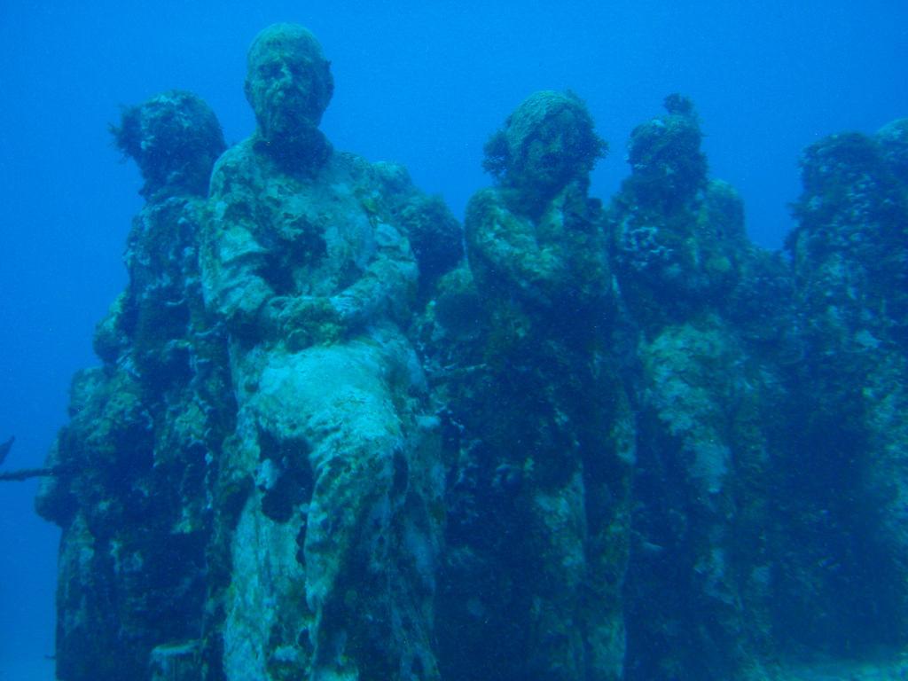 Plongée au musée sous la mer cancun