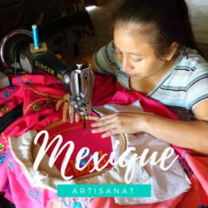 s'initier à la couture et l'artisanat maya