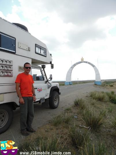 itineraire de voyage en mongolie frontiere