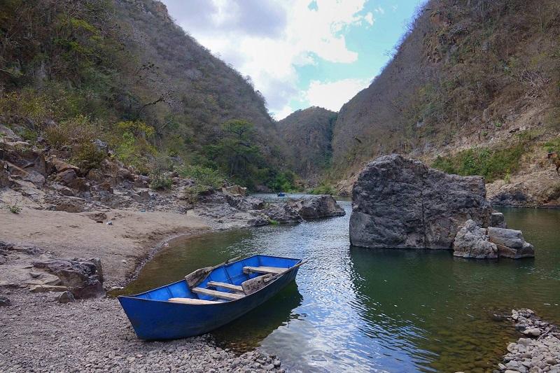 canyon somoto nica barque