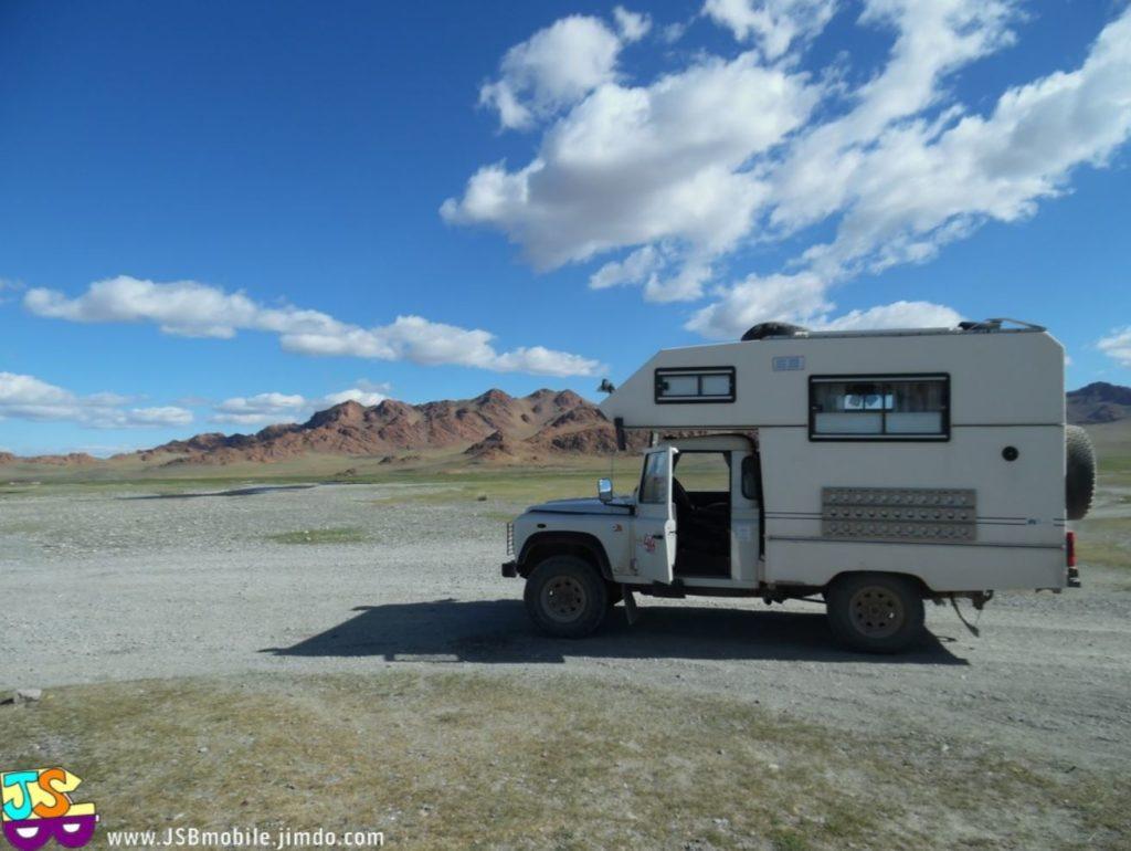 itinéraire de voyage en Mongolie camper