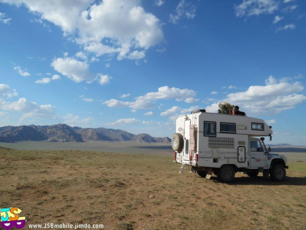parc itinéraire de voyage mongolie