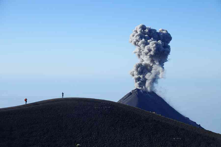 acatenango ascension du volcan nicaraua sommet2
