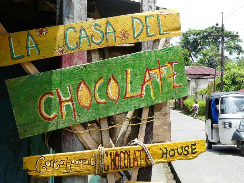 CASA DEL CHOCOLATE Livingston GUATEMALA