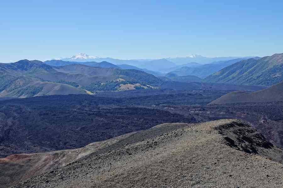 cratère Navidad volcan Malalcahuello
