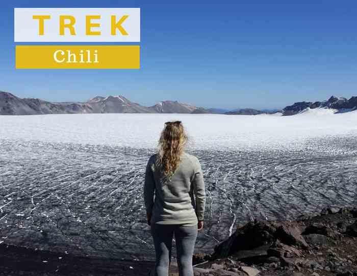 Trek au Volcan Nevados de Sollipulli: un géant au cratère de glace